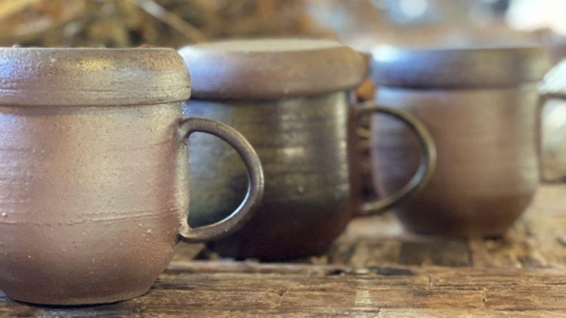 備前焼オリジナル茶器